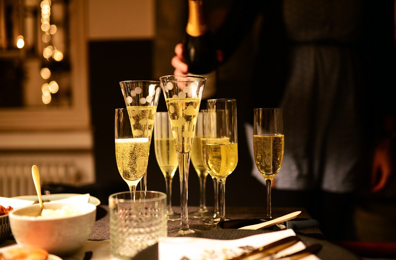 Aktuelle Bewohner der einstigen Residenz des Champagnerproduzenten Mumm
